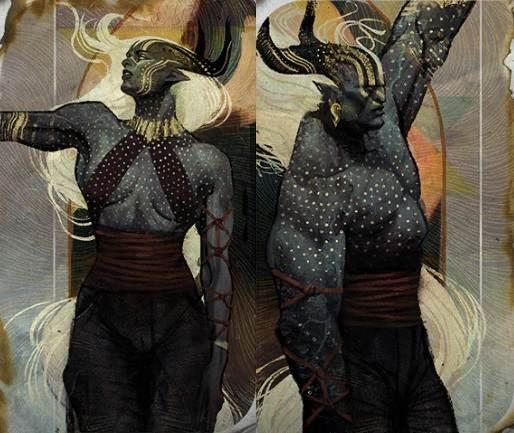 Os Qunari, de Dragon Age:Inquisition