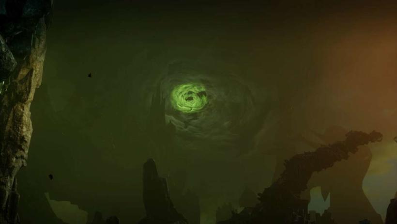 Dragon Age Black City, na Fade