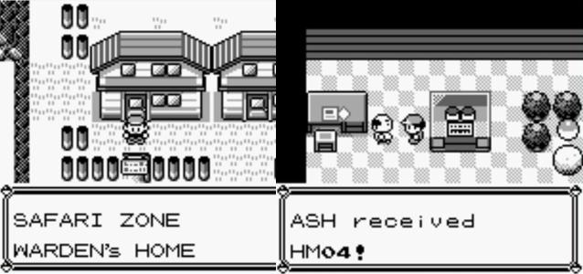hm no pokemon - Strength no Pokemon Red Blue Yellow