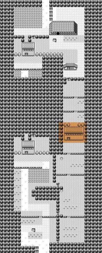 hm no pokemon - mapa do pokemon red, yellow e blue