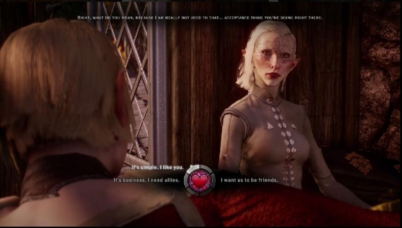 Dragon age romance - Sera, do Inquisition