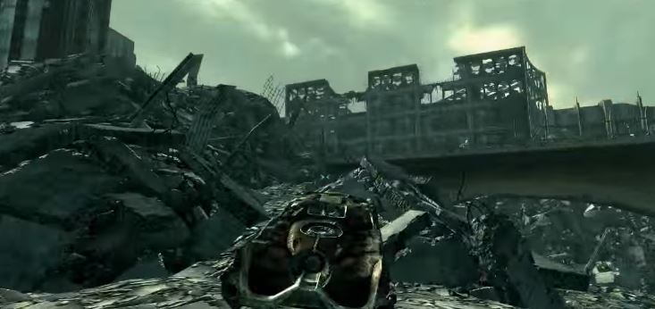 fallout 3 carro glith power armor