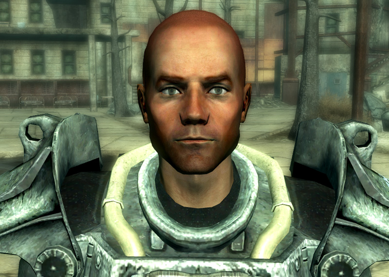 fallout 3 paladin gunny power armor training