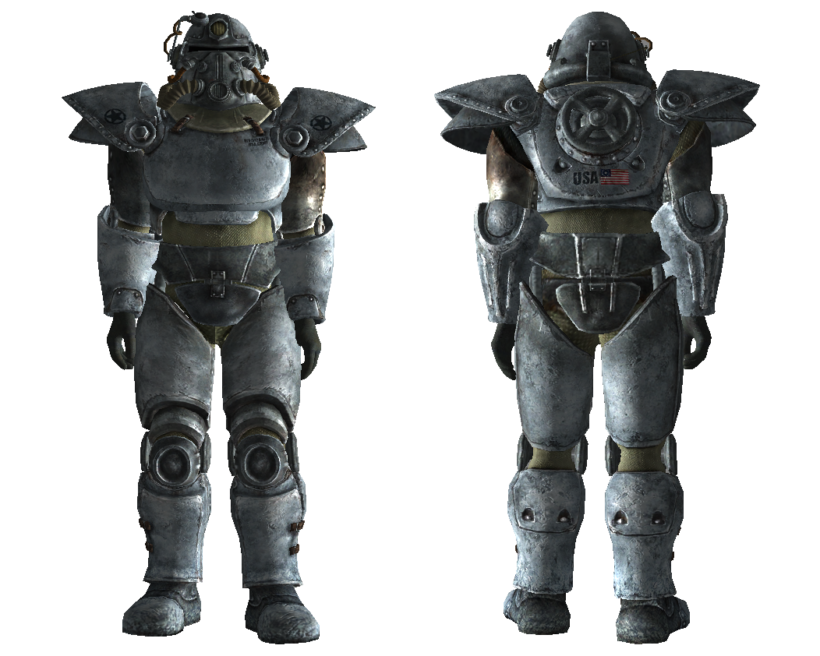 fallout 3 winterized t-51b power armor
