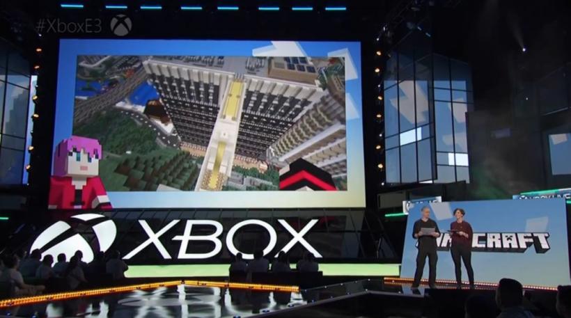 Microsoft e3 minecraft realms